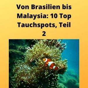 Von Brasilien bis Malaysia 10 Top Tauchspots, Teil 2