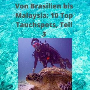 Von Brasilien bis Malaysia 10 Top Tauchspots, Teil 3